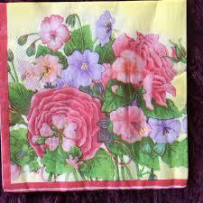 100 decoupage home decor dragonfly botanical print