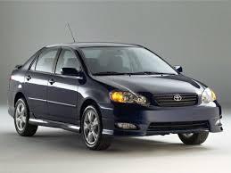 toyota corolla 2005 xrs 2005 toyota corolla xrs 4dr sedan specs and prices