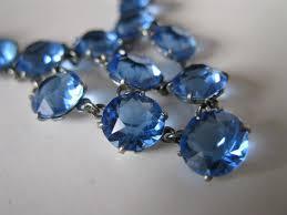 blue crystal necklace images Blue crystal necklaces crystal necklaces beautiful and a great jpg