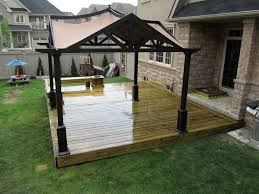 Backyard Canopy Ideas 57 Deck Canopy Ideas 10x10 Gazebo Canopy Tent Garden Patio