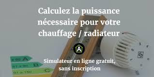 puissance radiateur electrique pour chambre calcul de la puissance nécessaire pour radiateur et chauffage