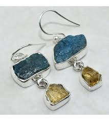 citrine earrings combinations apatite citrine earring jewelry