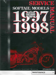 1997 1998 harley davidson softail service repair manual flstf