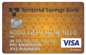 Rewards Business Credit Cards Business Credit Cards Territorial Savings Bank