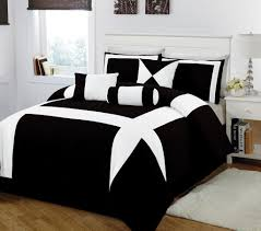 Black And White Queen Bed Set Black And White Comforter Set With Tree Motif Of Amazing Black And