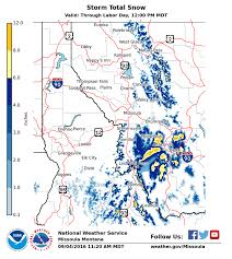 Snowfall Map 10