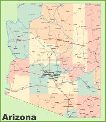 map of the united states with arizona highlighted united states map arizona arizona united states map 88