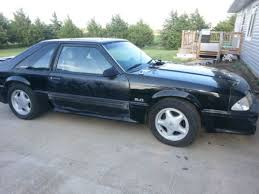 Black Fox Body Mustang Buy Used 88 Mustang Gt Black Fox Body Runs But Idols Rough At