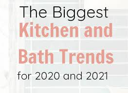 kitchen cabinet color trend for 2021 the kitchen and bath trends for 2020 and 2021