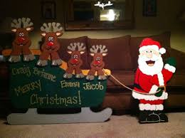 131 best wooden yard christmas decorations images on pinterest