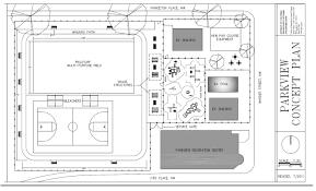 Community Center Floor Plan Recreation Centers Park View D C