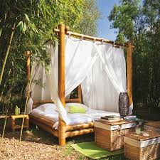 outdoor canopy bed 30 outdoor canopy beds ideas for a romantic summer freshome com