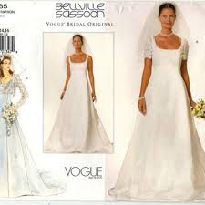wedding dress patterns shop vogue wedding dress patterns on wanelo