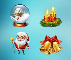 new year u0027s symbols new years icons christmas symbols slotopaint