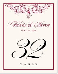 song vintage monogram wedding table numbers table number cards