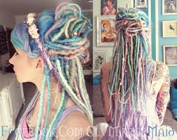 How To Dread Hair Extensions by Anmorata Designs Pastel Princess Synthetic Dread Kit Synthetic