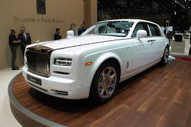 roll royce rouce rolls royce serenity a silky one off special for geneva by car