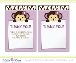 baby shower gift thank you cards pacq co
