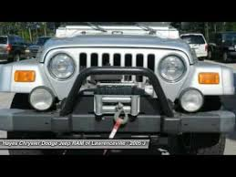 chrysler dodge jeep ram lawrenceville 2005 jeep wrangler lawrenceville ga l743059b