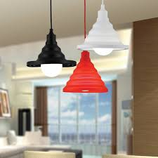 Diy Ceiling Lights Folding Lampshade Colorful Silicone E27 Lamp Holder Pendant Lights