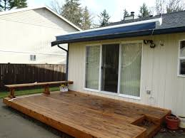 Sunsetter Roof Brackets by Exterior Design Gorgeous Retractable Awning For Your Deck And