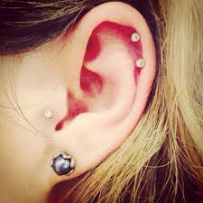 best earrings for cartilage helix piercing is one of the most liked piercing by
