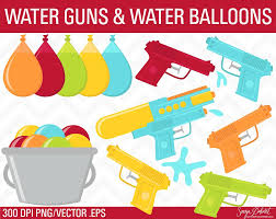 water balloons water guns water balloons clip objects creative market