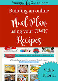 plan it cuisine how to upload your own recipes to build a menu other questions