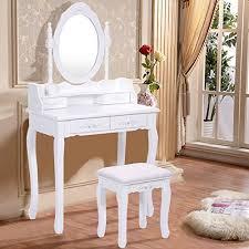 coiffeuse chambre coiffeuse tabouret avec miroir table de maquillage chambre 4