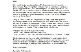 good job cover letter good cover letter example example of a