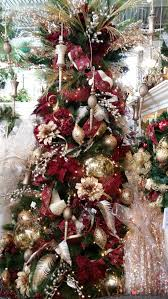 Christmas Decorations 2017 Burgundy And Gold Christmas Tree Ideas Www Silkscapesindiana Com