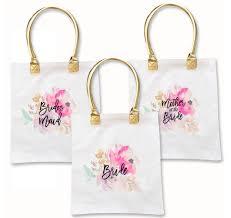 bridal party tote bags water color bridal party tote bag bridesmaid tote bag