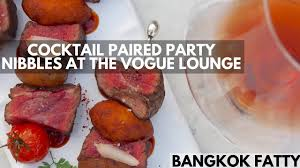 bangkok bites cocktails paired with nightlife nibbles at the