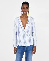 dressy white blouses s blouses collection zara united states