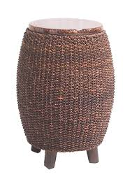 round rattan side table fong brothers co side tables