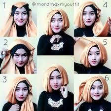 tutorial jilbab jilbab tutorial jilbab pashmina satin terbaru tutorial hijab pinterest