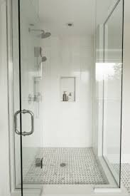 White Bathrooms by Best 20 Stand Up Showers Ideas On Pinterest Master Bathroom