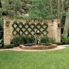 best 25 brick wall gardens ideas on pinterest brick courtyard