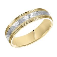 yellow gold wedding bands platinum 6mm wide pir wedding band mullen jewelers