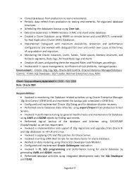Oracle Dba 3 Years Experience Resume Samples by Oracle Dba Resumes Indeed Resume Search
