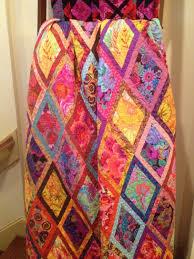 Kaffe Fassett Tapestry Cushion Kits Bordered Diamond Quilt Fabric Pack 56