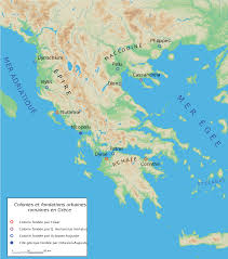 Greece Islands Map by Greek Islands List Map