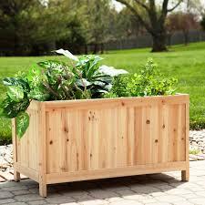 vegetable garden box kits home outdoor decoration