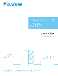 freedom ac daikin 2015 pricelist by freedom air conditioning issuu