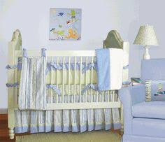 Surfer Crib Bedding Surf Nursery Knit Jelly Fish Mobile Organic Squid Crib Sheets