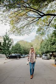 the perfect plaid shirt kelly in the city