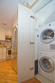 Laundry Closet Door Laundry Closet Doors Laundry Room With Stackable Washer And Dryer