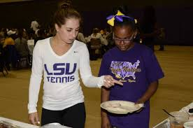 ccacsa hosts thanksgiving with the tigers lsusports net the