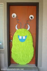 monsters inc halloween decorations halloween door archives events to celebrate