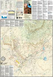 Utah Road Conditions Map by St George Springdale Utah Trail Map U0026 Guide Adventure Maps